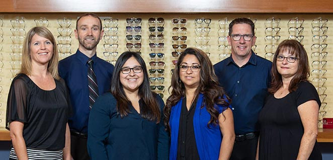 White Salmon Eyecare team